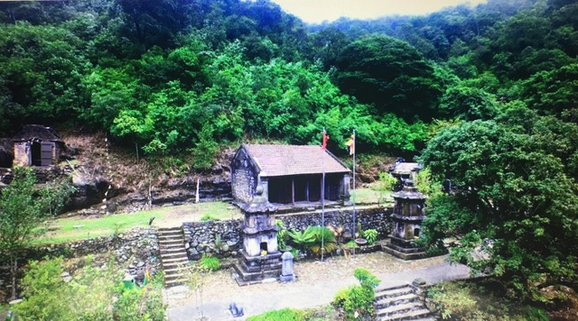 Khung cảnh chùa Ngọa Vân - nơi Phật hoàng Trần Nhân Tông nhập niết bàn cách đây 710 năm.