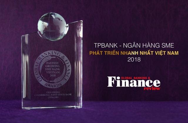 TPBank nhận giải thưởng Ngân hàng SME phát triển nhanh nhất tại Việt Nam - 1