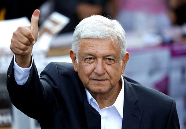 Tổng thống Mexico Andrés Manuel López Obrador. Ảnh: PBS