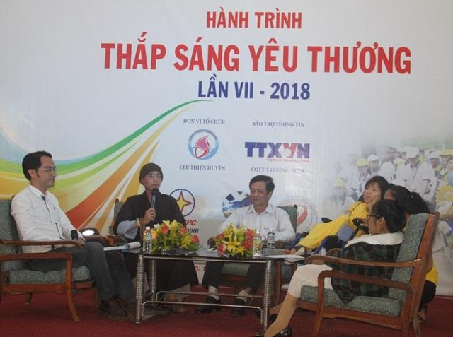 Hành trình: Thắp sáng yêu thương cho người khuyết tật tại Bình Định.