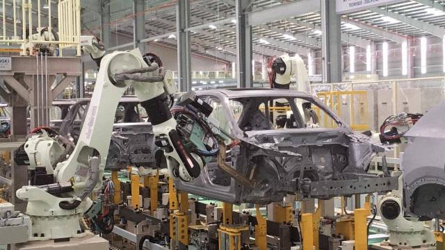 các sản phẩmô tôdo Thaco sản xuất lắp ráp đã đạt tỷ lệ nội địa hóa từ 15 – 25% đối với xe con, 35 – 45% đối với xe tải và 60% đối với xe bus.