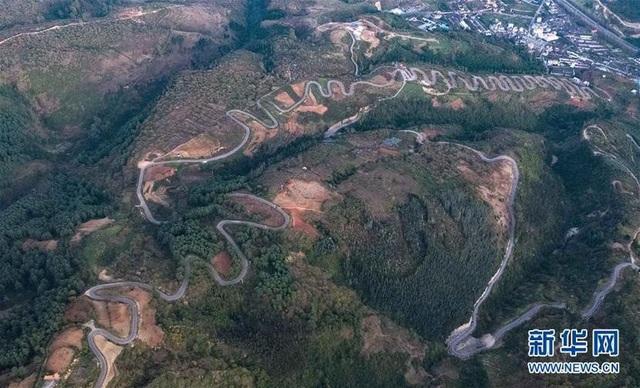 Đây là một trong những tuyến đường hiểm trở nhất Trung Quốc hiện nay