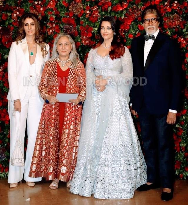 Cựu hoa hậu thế giới Aishwarya Rai và gia đình