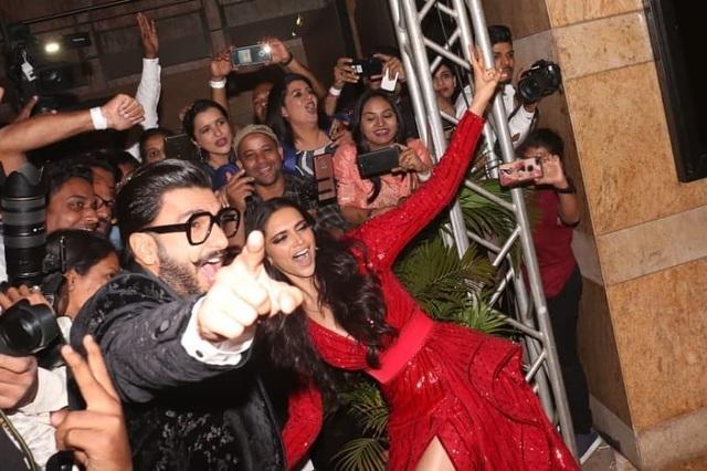 Deepika Padukone và chồng Ranveer Singh đều là sao hạng A của Bollywood