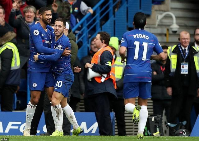 Chelsea đã có chiến thắng để leo lên vị trí thứ 3 trên BXH