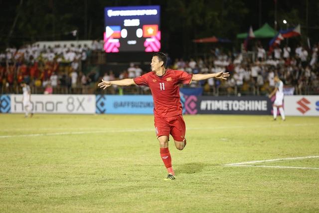 Anh Đức sẽ trở lại đội hình chính thức của đội tuyển Việt Nam (ảnh: Huyền Trang)