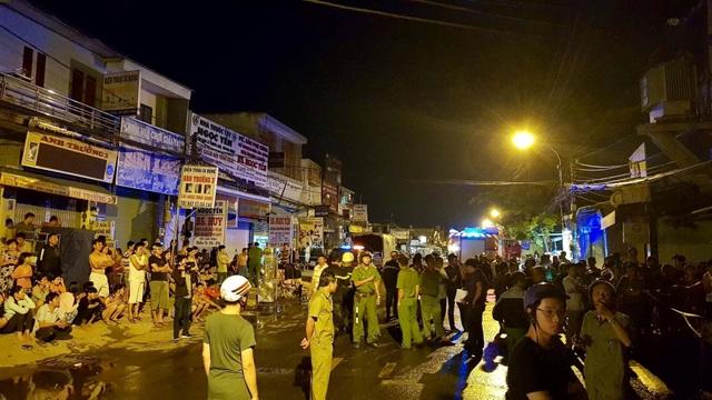 Hàng trăm chiến sĩ được huy động đến chữa cháy, cứu người bị nạn
