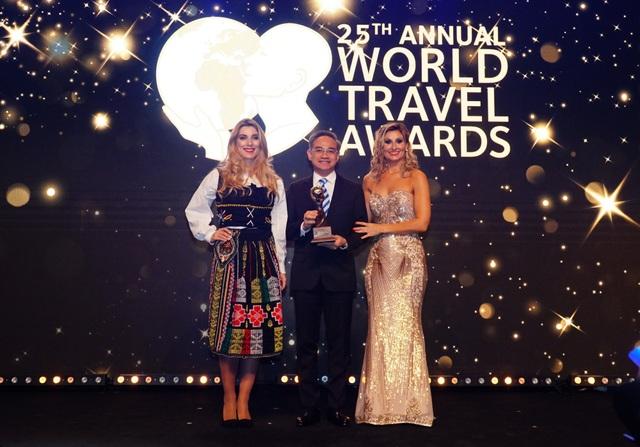 """Vietravel vinh dự đạt danh hiệu """"World's Leading Group Tour Operator"""" 2 năm liên tiếp"""