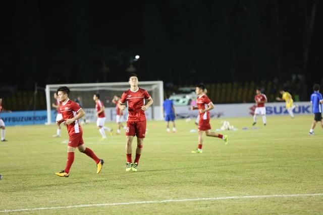 Quang Hải và Duy Mạnh, hai cầu thủ tiếp tục được trao cơ hội đá chính