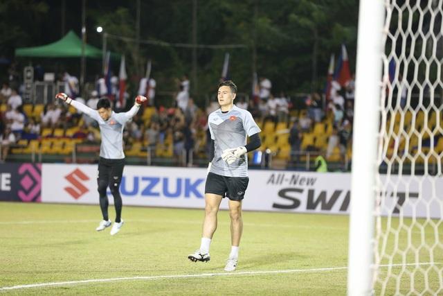 Thủ môn Văn Lâm quyết duy trì thành tích giứ sạch lưới ở AFF Cup 2018