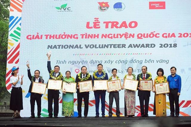 18 cá nhân, tập thể được vinh danh giải thưởng Tình nguyện quốc gia 2018 - 4
