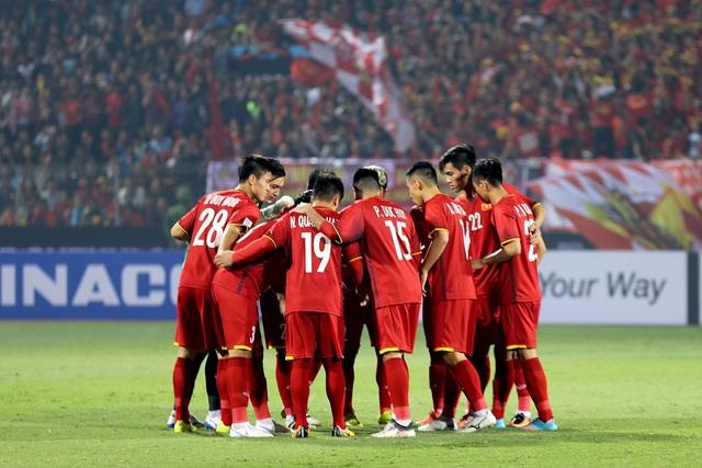 Đội tuyển Việt Nam quyết giành kết quả khả quan trên sân Panaad