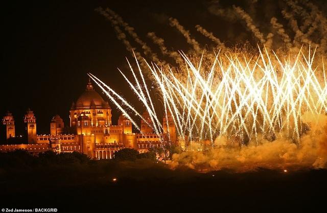 Chi phí tổ chức đám cưới ở cung điện Umaid Bhawan là 60.000 USD/ngày