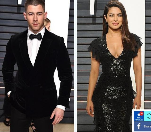 Nick Jonas say đắm Priyanka Chopra từ ánh nhìn đầu tiên