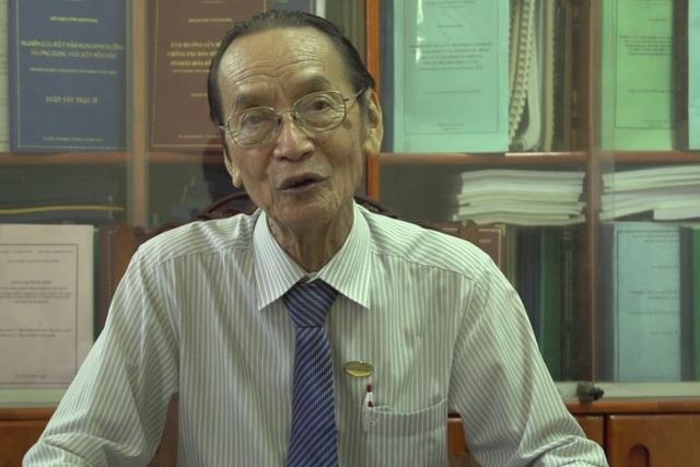 PGS. TS. NGND Dương Thanh Liêm, nguyên Hiệu trưởng ĐH Nông lâm TPHCM. (Ảnh: Trường ĐH Nông lâm TPHCM)