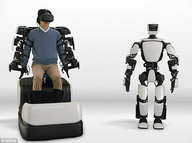 Nhật Bản đang phát triển loại robot thế hệ thứ 3 có thể điều khiển từ khoảng cách gần 10 km.