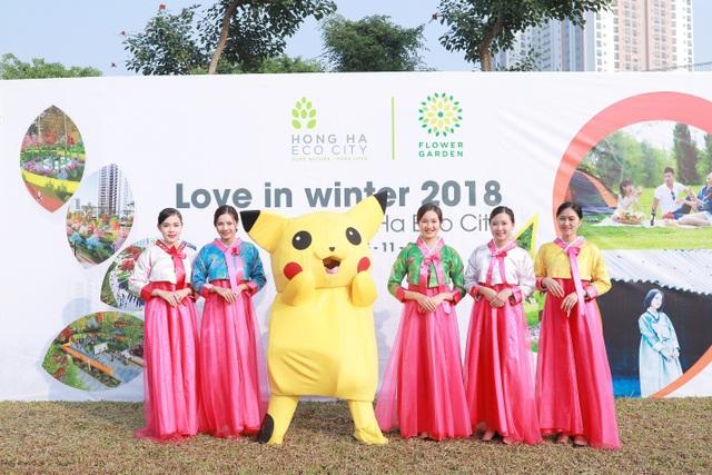 Love in winter – Sự kiện trải nghiệm không gian sống, kết nối cộng đồng tại Hồng Hà Eco City