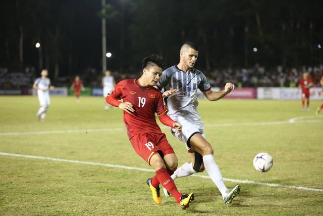 Đội tuyển Việt Nam đang có nhiều lợi thế trước Philippines (ảnh: Huyền Trang)