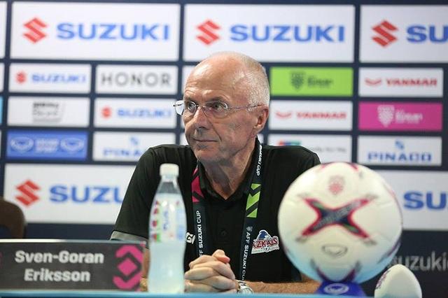 HLV Eriksson thừa nhận bất lợi sau khi thua đội tuyển Việt Nam ở sân nhà
