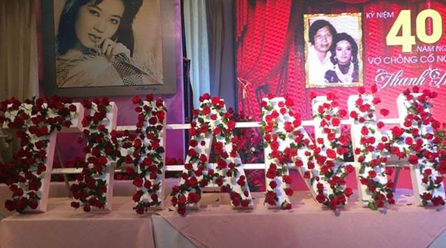 Lễ giỗ lần thứ 40 nghệ sĩ Thanh Nga tràn ngập hoa hồng - 3