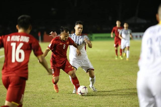 Đội tuyển Việt Nam mạnh hơn so với Philippines (ảnh: Huyền Trang)