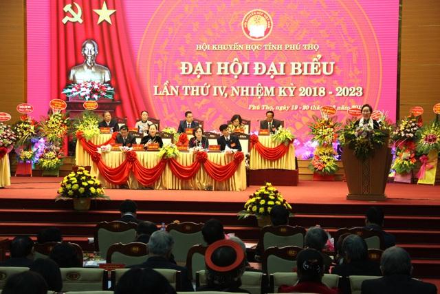 Đại hội đại biểu Khuyến học tỉnh Phú Thọ lần thứ IV