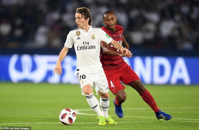 Modric tiếp tục để lại sự yên tâm ở khu vực giữa sân