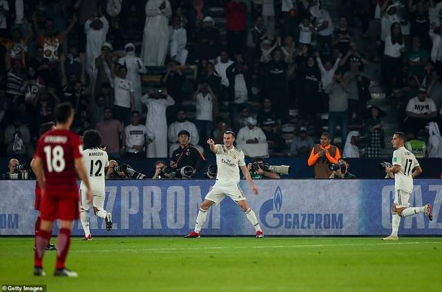 Bale đã xóa tan sự hoài nghi về phong độ tệ hại mùa giải này