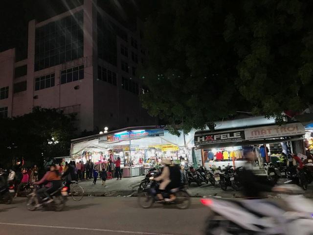 Trung tâm mua sắm chợ đêm trái phép sát siêu thị Big C Huế