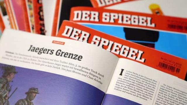 Báo Der Spiegel là một trong những hãng tin nổi tiếng nhất của Đức (Ảnh: EPA)