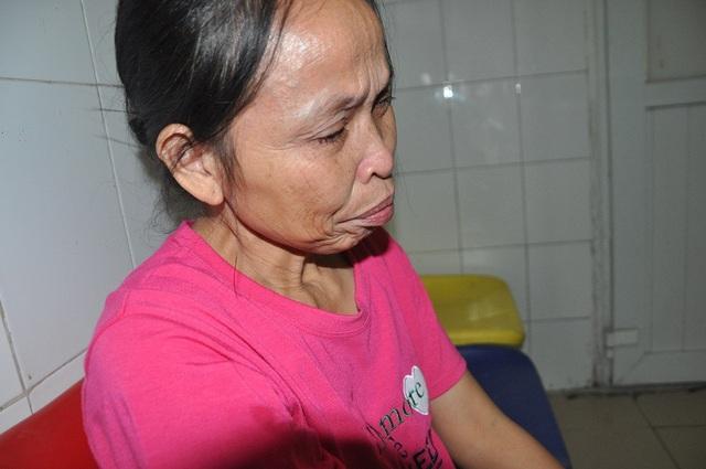 Chị Quang chỉ ao ước được ăn 1 bát cơm có thịt.