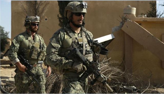 Lực lượng đặc nhiệm Mỹ ở Syria (Ảnh: Getty)