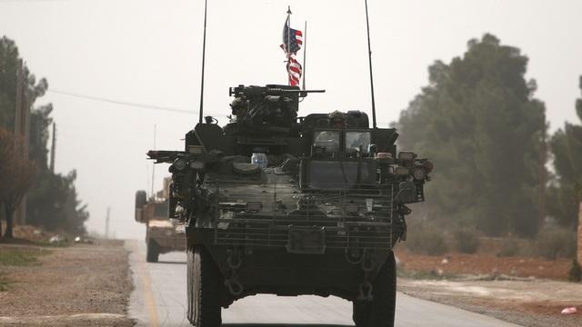 Xe quân sự của quân đội Mỹ (Ảnh: RT)