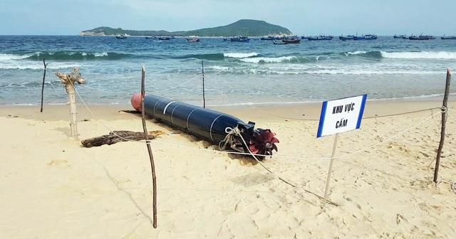 Vật giống ngư lôi huấn luyện của nước ngoài đã được bàn giao cho Hải quân Việt Nam