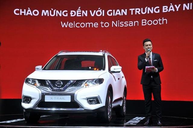 Mức giá hiện tại của mẫu crossover Nissan X-Trail dao động từ 976 triệu đến 1,083 tỷ đồng