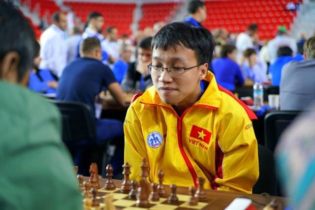 Kỳ thủ Nguyễn Ngọc Trường Sơn giành HCV cá nhân tại giải cờ vua vô địch thế giới Olympiad