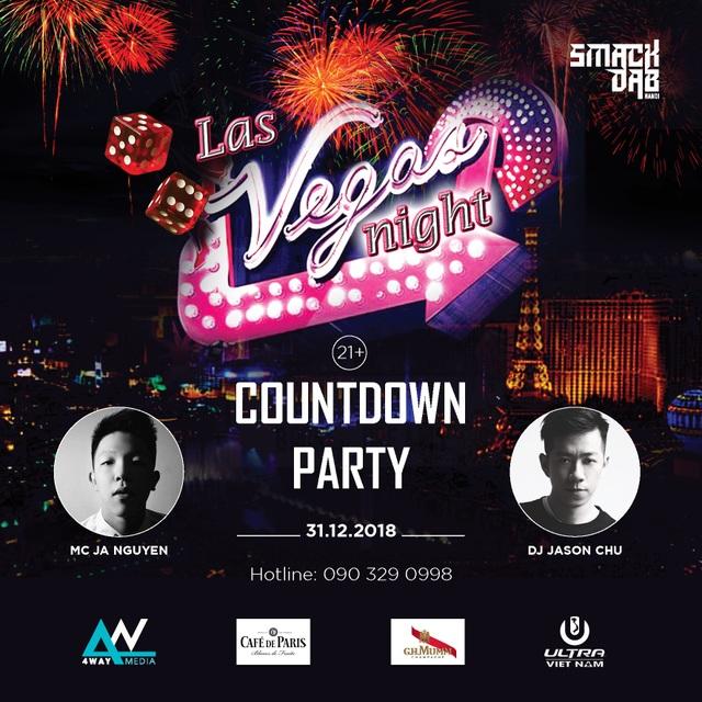 """Đến với chúng tôi, bạn sẽ được trải nghiệm đêm giao thừa theo phong cách của """"Thành phố không bao giờ ngủ"""" – Las Vegas, cùng rất nhiều trò chơi thú vị, những màn trình diễn nghệ thuật đặc sắc và chương trình bốc thăm trúng thưởng với giải thưởng giá trị."""