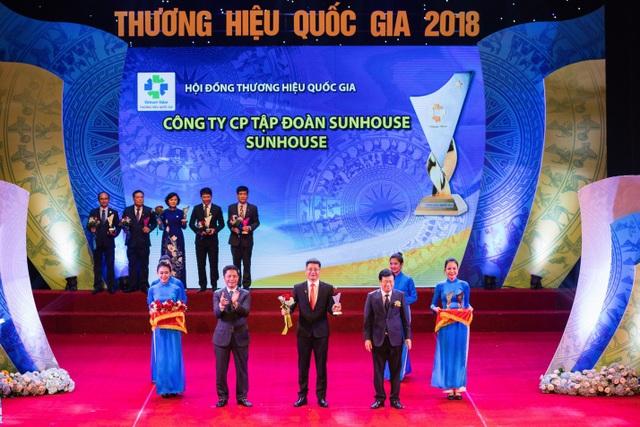 SUNHOUSE vinh dự đón nhận danh hiệu Thương hiệu quốc gia 2018 - 1