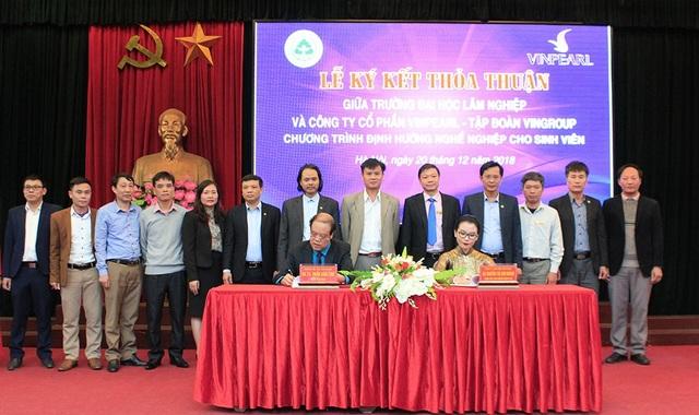 Trường ĐH Lâm Nghiệp hợp tác với doanh nghiệp tạo việc làm cho sinh viên - Ảnh 1.