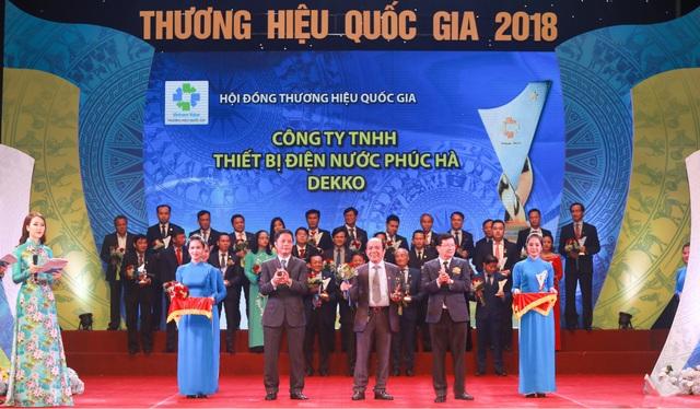 Doanh nghiệp ngành nhựa đón nhận giải thưởng Thương hiệu quốc gia 2018 - Ảnh 2.