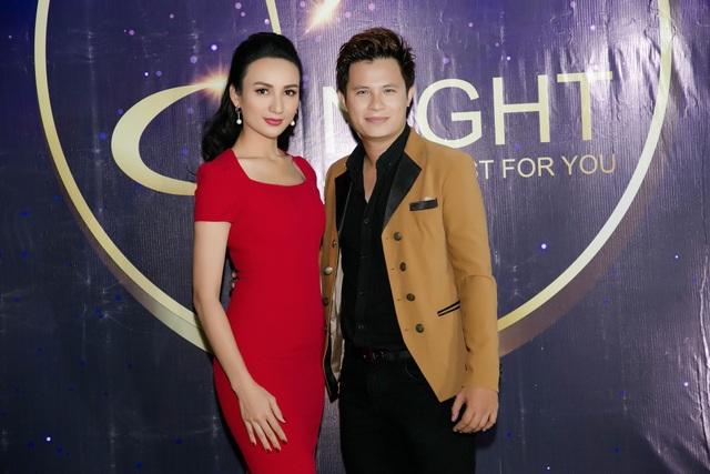 Hoa hậu Ngọc Diễm hội ngộ cùng Võ Trọng Phúc, Trọng Khương - Ảnh 1.
