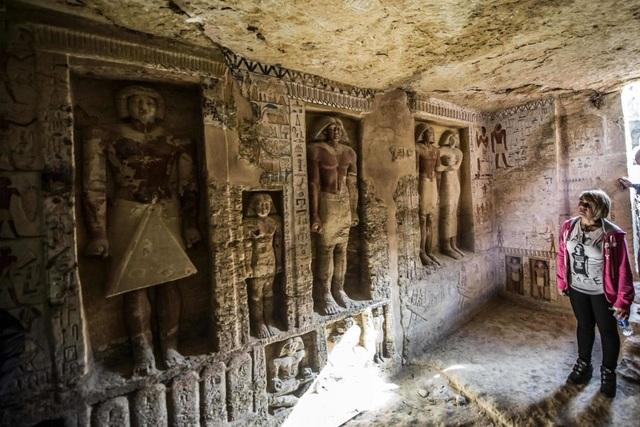 Bên trong ngôi mộ 4000 năm tuổi của một thành viên hoàng gia Ai Cập cổ đại - Ảnh 1.