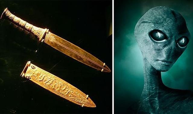Dấu vết người ngoài hành tinh có trong lăng mộ  Pharaoh Tutankhamun? - Ảnh 1.