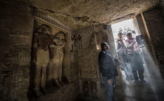 Bên trong ngôi mộ 4000 năm tuổi của một thành viên hoàng gia Ai Cập cổ đại - Ảnh 3.