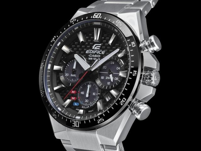Đồng hồ Casio năng lượng mặt trời EQS-800CDB chinh phục phái mạnh - Ảnh 4.