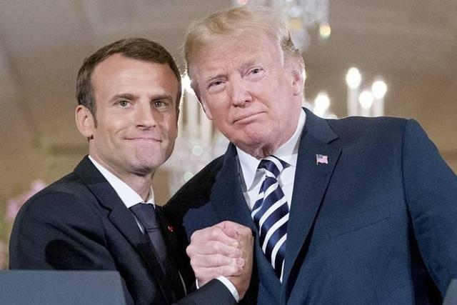 Tổng thống Pháp chỉ trích ông Trump: Là đồng minh nên kề vai sát cánh - Ảnh 1.
