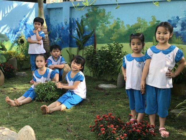 Vườn hoa nho nhỏ - Tình yêu lớn của cô giáo mầm non - Ảnh 1.