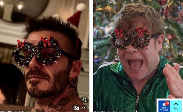 Giáng sinh đầm ấm của gia đình Beckham - Ảnh 3.