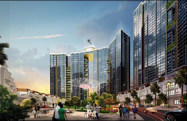 Liên tiếp cất nóc vượt tiến độ, Sunshine City Hà Nội tăng tốc vào cuối năm - Ảnh 4.