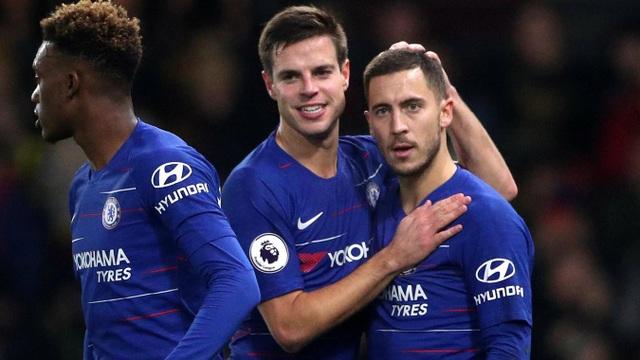 Watford 1-2 Chelsea: Đêm diễn của Hazard - Ảnh 2.